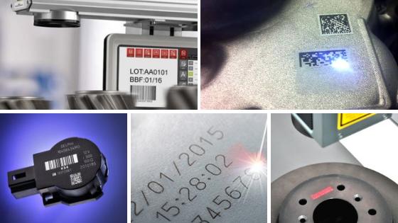 Marcaje láser acero aluminio plástico
