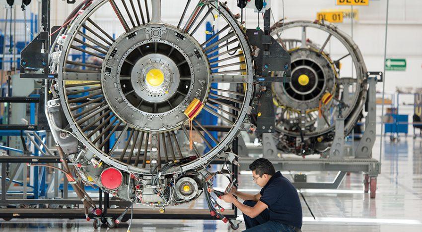 leak test plane motor fortest