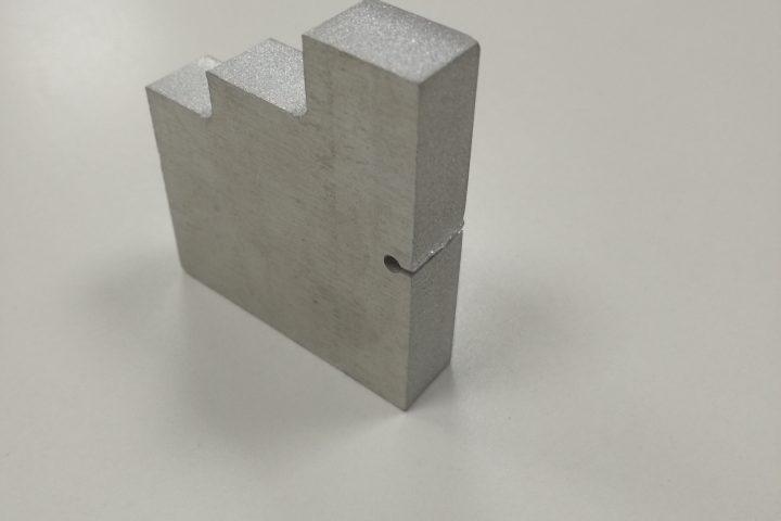 corte de agua de aluminio