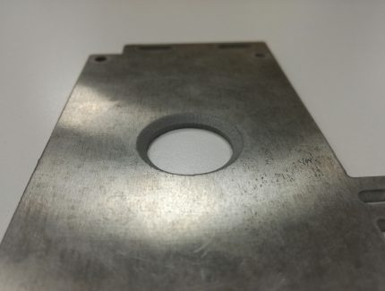 corte agua 5 ejes acero metal