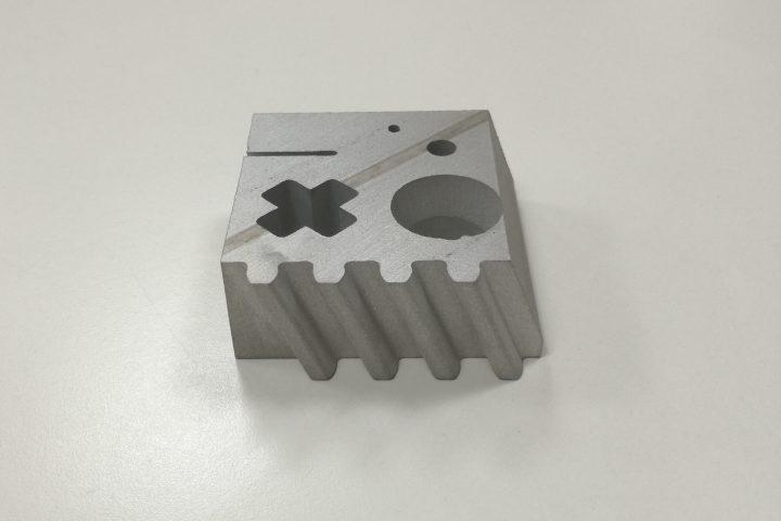 Corte de aluminio por agua