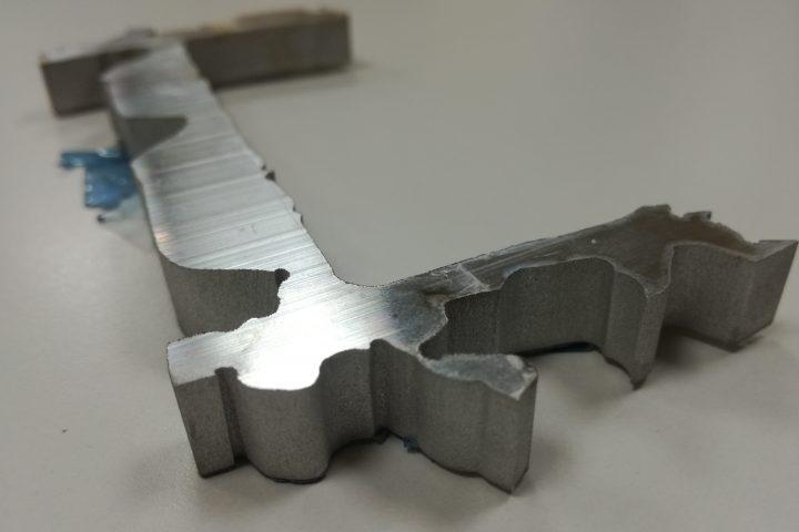 corte aluminio